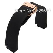 26 mm nuevos hombres de blanco caucho de silicona Watch BAND correa