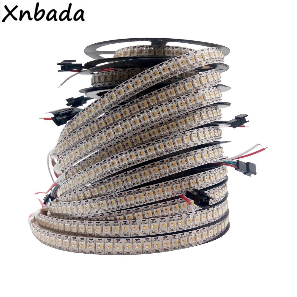 Tira llevada SK6812 (Similar WS2812B) RGBW 4 en 1 30/60/144 Leds/pixeles/m Individual direccionable IC Led IP30 /IP65/IP67 DC5V