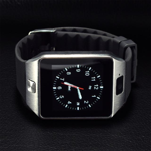 Smart watch para el teléfono android podómetro apoyo sim bluetooth reloj inteligente hombres mujeres reloj deportivo reloj gt08 gt88 gv18