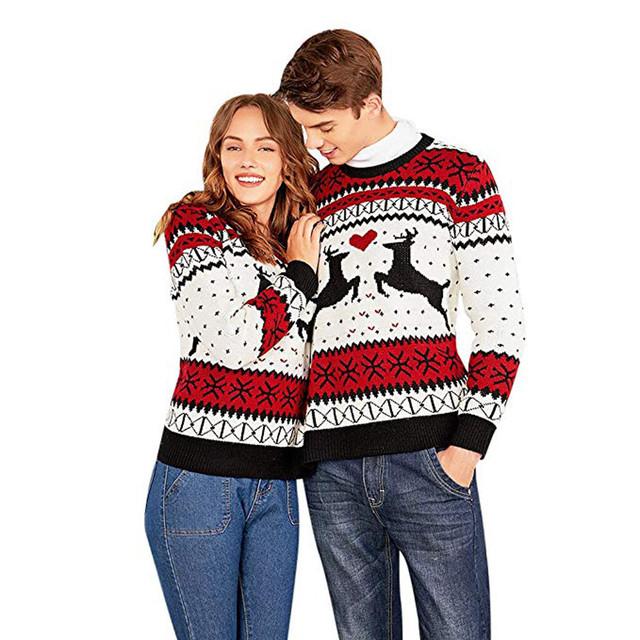 UGLY COUPLE CHRISTMAS SWEATSHIRT