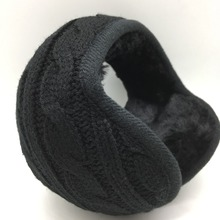 Winter Warm Knitting Earmuffs unisex fashion Earcap Foldable Adjustable