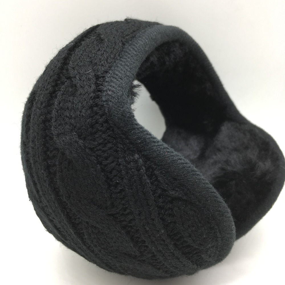 Winter Warm Knitting Earmuffs Unisex  Fashion  Earcap  Foldable Adjustable Earmuffs Wholesale