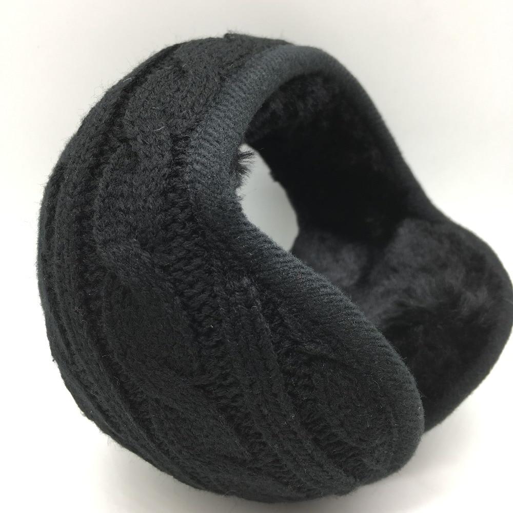 Winter Warm Knitting Earmuffs Unisex  Fashion  Earcap  Foldable Adjustable Earmuffs Wholesale
