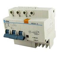 DZ47LE 63 AC 380V 32A 3P DIN Rail Mounted Earth Leakage Circuit Breaker
