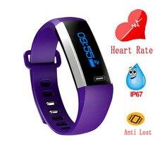 M2S смарт-браслет сердечного ритма Мониторы смарт-браслет Водонепроницаемый Шагомер Bluetooth Смарт часы для IOS Android телефон