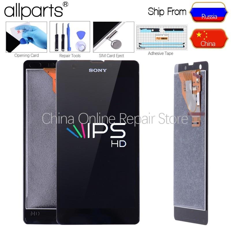 ORIGINAL Für Sony Xperia ZR Display Touch Screen Ersatz Bildschirm Für SONY Xperia ZR LCD Display M36h C5502 C5503 LCD