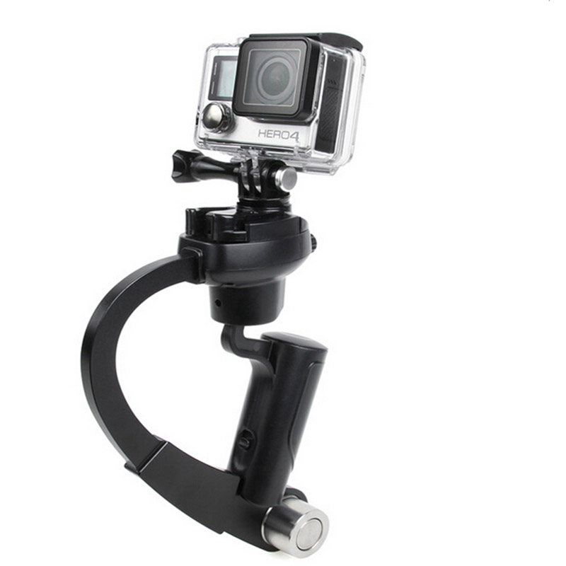 NEW Pro Handheld Stabilizer Steady Steadycam Bow Shape Tripod for Camera pro Hero HD 5 4 3+ 3 2 1 sj4000 xiaomi yi tripod stand