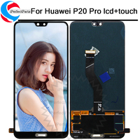 6.1LCD For Huawei P20 Pro Display Screen Touch Panel Digitizer Assembly P20 Pro CLT AL01 Lcd replacement P20 Plus screen