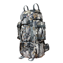 Luggage double-shoulder professional valiz mountaineering bag Camouflage 60 L women bags backpack waterproof travel backpacks