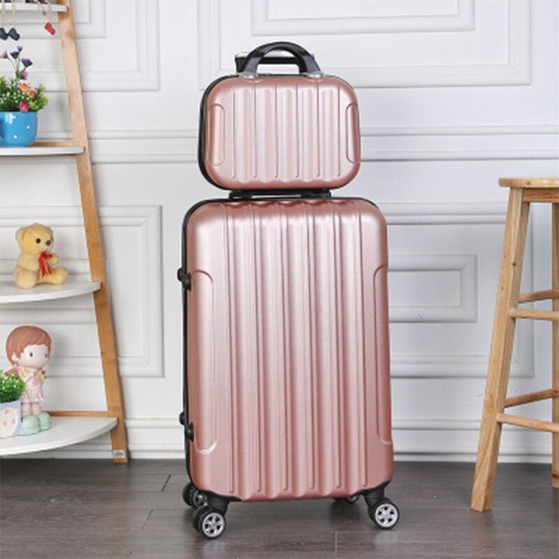 Rolling luggage 2PCS 14+24 26