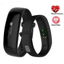 Pulsera inteligente m88 smartband heart rate monitor de presión arterial de fitness podómetro pulsera para ios android pk mi banda 2 fitbit