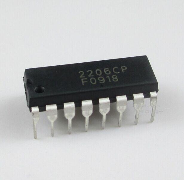1pcs/lot XR2206CP DIP-16 XR2206 DIP 2206CP In Stock