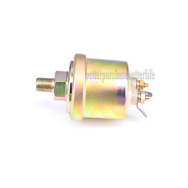 US $12 0 |Free Shipping VDO Oil Pressure Sender, Sending Unit, 0 80psi  Range,10 180 ohms Output,NPT1/8-in Pressure Transmitters from Tools on