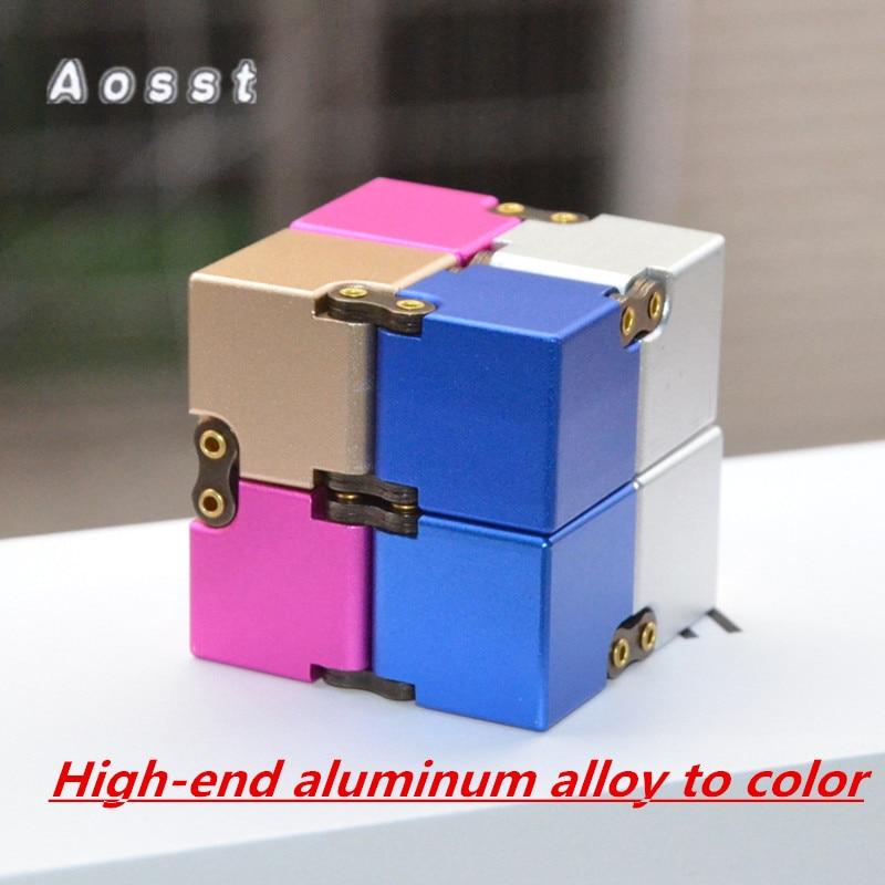 Aoss tdecompression cub Новый Infinity CUBE декомпрессии CUBE игрушки чтобы снять стресс сопротивление понервничать квадраты ...