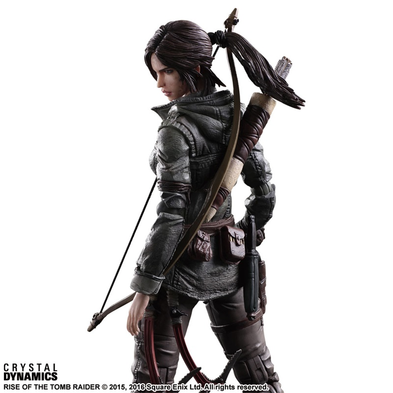 Image 5 - Экшн фигурка Kai, Raider Rise of Tomb Raider Lara Croft, ПВХ, Коллекционная модель игрушки 27 смИгровые фигурки и трансформеры    АлиЭкспресс