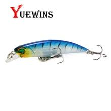Купить с кэшбэком YUEWINS Fishing Lure Floating Laser Minnow Pesca Artificial 6.5cm 4g Jig Hard Bait Crankbait Wobblers Fishing Swimbait TP1035