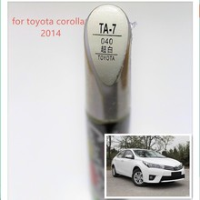 Автомобильная ручка для ремонта царапин, авто ручка красного цвета для Toyota Corolla