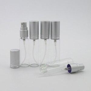 Image 4 - 300x10 ML Vuoto Portatile di Profumo Dello Spruzzo di Vetro Bottiglia di 10cc Da Viaggio Piccolo Atomizzatore Bottiglia di Profumo Nebbia Sottile il Giorno di Natale regalo