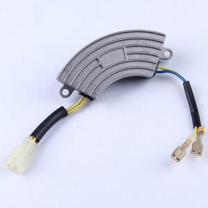 Image 4 - 2.5KW single phase avr aluminum case 220v gasoline High Quality generator part voltage regulator protector Stabilizer 250v220uf