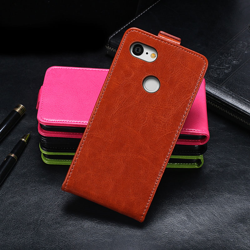 For Google Pixel 3 Case 5.6 Inch Cover Luxury Flip PU Leather Protective Case For Google Pixel3 Cover Business Phone Bags Case