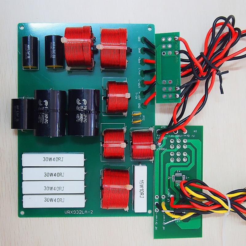 Finlemho vrx932 line array repair speaker crossover filter passive ...