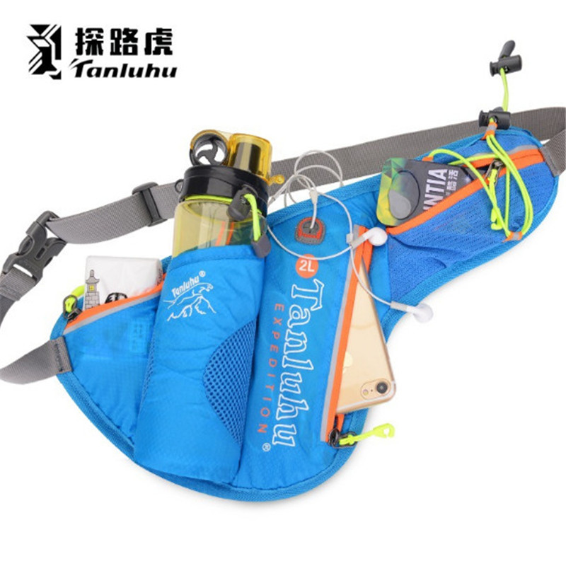 Running Marathon Waist Bag TANLUHU 371 Nylon Sports Bag Kettle Bag Outdoor Climbing Hiking Bag