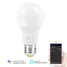 6.5W E27 WiFi Smart Light Bulb , APP Control Wake-Up Lights , No Hub Required , Compatible with Alexa Google Home Assistant