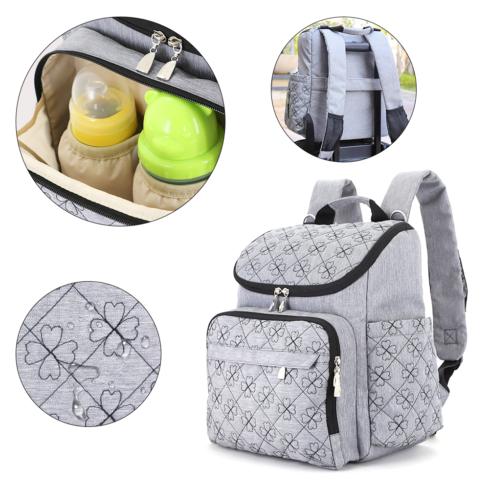 Baby Diaper Bag Mummy Maternity Nappy Bag Brand Baby Travel Backpack Diaper Organizer Nursing Bags For Baby Care Wheelchair Bags mummy diaper bag multifunctional baby diaper zipper backpack bags big pocket baby nappy changing bag organizer maternity bags