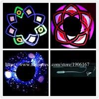 Новый программируемый 100 LED Пиксели визуальный POI полный Цвет СВЕТОДИОДНЫЕ Лампы Stick нунчаки USB Графический POI Бесплатная Программы для компь