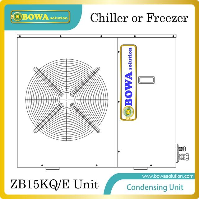 Copland ZB15KQE schrank kondensationsanlage wird installiert in ...