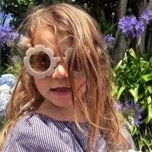 MOUGOL Vintage Kids Sunglasses Child Sun Glasses Round Flower Gafas Baby Children UV400 Sport Girls Oculos De Sol