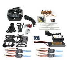 F14893 J DIY RC Drone Quadrocopter Full Set X4M380L Frame Kit QQ Super AT9 TX RX