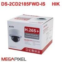 8mp ip камера видеонаблюдения PoE DS 2CD2185FWD IS аудио для hikvision dahua DVR HIK Connect iVM4200 видеокамера