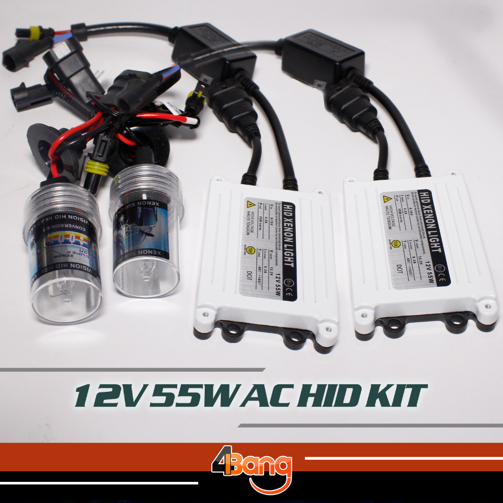 ФОТО Quick Start Fast Bright 12V 55w AC Electronic digital ballast hid xenon kit H7 AUTO bulb 3000K-30000K Car Headlight