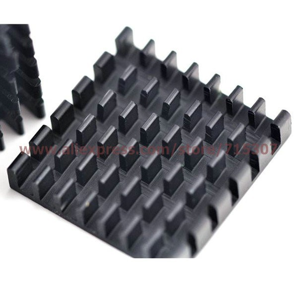 PHISCALE 10pcs 25*25*5 / 25x25x5mm heat sink used for routing graphics card