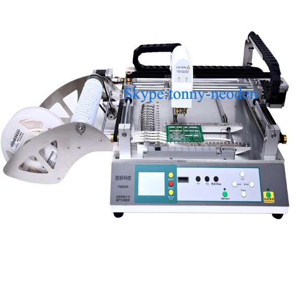 Multifunction Vision Bga Pick and Place Machine Smt Full Automatic Assembly Production Line TM220A