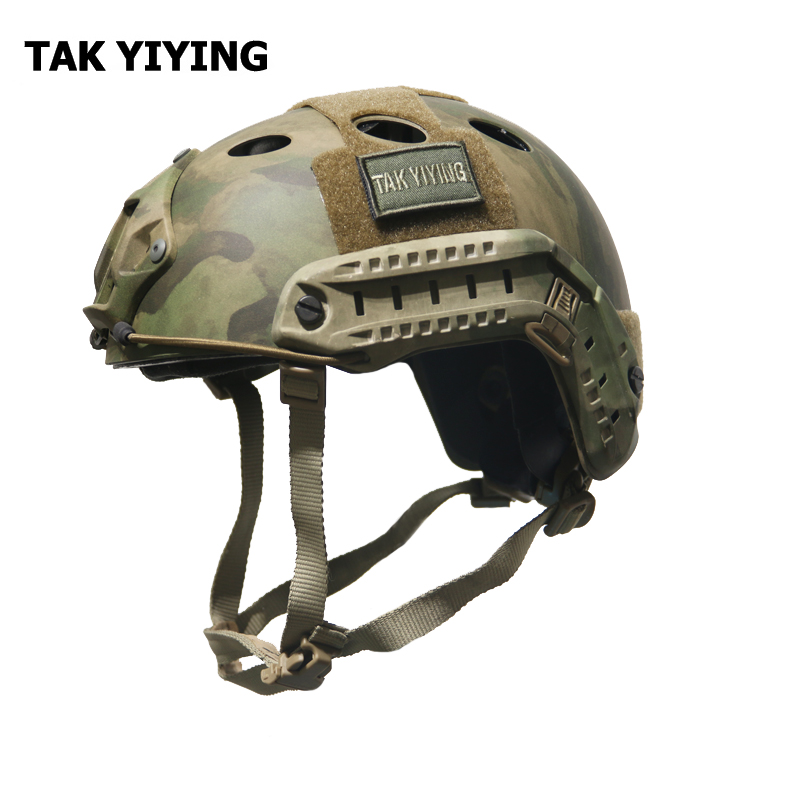 TAK YIYING Tactical protective helmet Base Jump Fast Helmet For Special Forces Outdoor Airsoft Paintball Wargame Can Adjustable high quality outdoor airframe style helmet airsoft paintball protective abs lightweight with nvg mount tactical military helmet