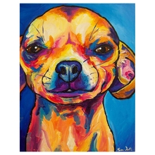 Diamond Embroidery Cartoon watercolor puppy DIY Painting Needlework Cross Stitch Full Rhinestones Handicraft decoration