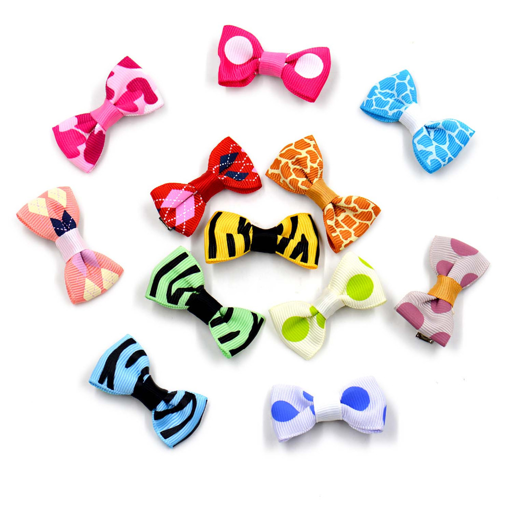 5pcs/lot Dog Pet Hairpins Cat Hair Bows Clips For Small Puppy Pet Grooming Products Pet Dog Accessories Headdress Flowe