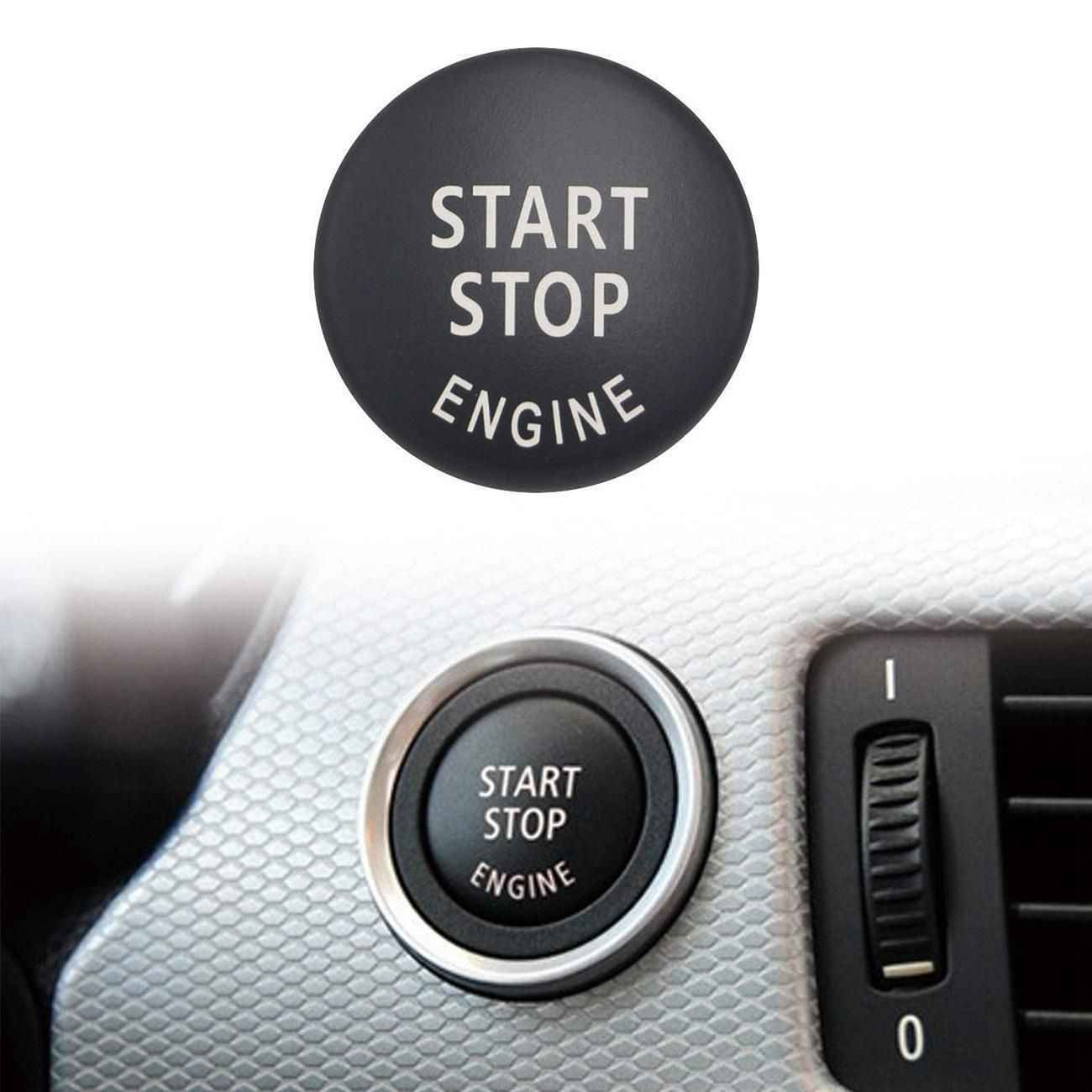 start stop engine button push button ignition switch cover replacement for bmw x1 x3 x5 x6 [ 1300 x 1300 Pixel ]