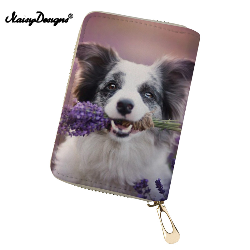 Coin Purses & Holders Humorous Women Cardholder Bags Cool Corgi Beagle Dog Pattern Wallet Credit Card Holders Business Card Holder Purse Lady Porte Carte Packing Of Nominated Brand Luggage & Bags