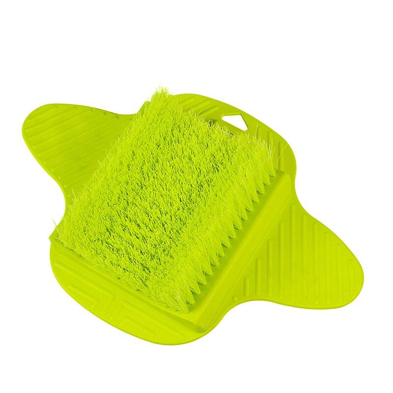 SDARISB pies de plástico cepillo de limpieza más fácil pies pie masajeador cepillo limpiador tonto creativo cepillo de diseñador in Cleaning Brushes from Home Garden