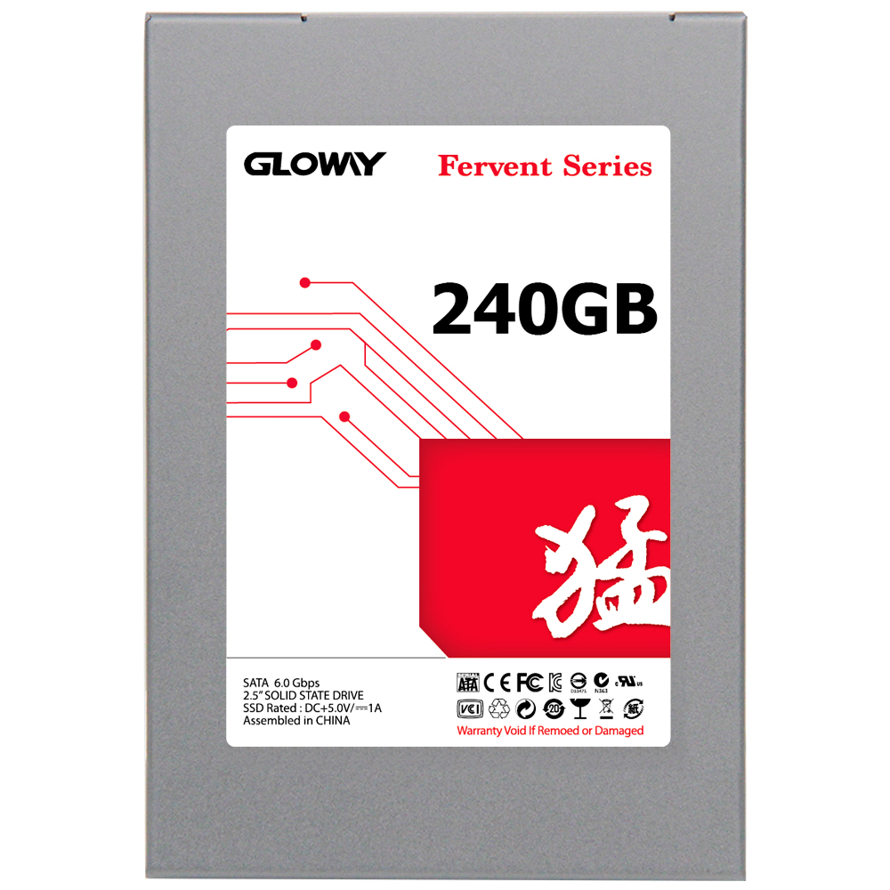 Gloway hot sale SSD 240GB 60GB Solid State Drive SATA III 2.5  HDD Disc Internal MLC Flash 120gb Hard Disk with free shipping new 00aj345 480 gb sata 1 8inch mlc ev ssd internal solid state drive 1 year warranty