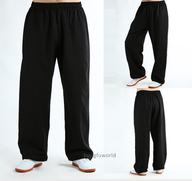 Cotton Linen Blends Martial arts Wushu Tai chi Kung fu Pants Shaolin Wudang Trousers