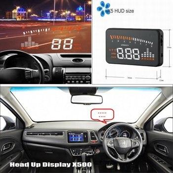 Car HUD Head Up Display For Honda FR-V FRV / HR-V HRV / MR-V MRV - Refkecting Windshield Screen Safe Driving Screen Projector