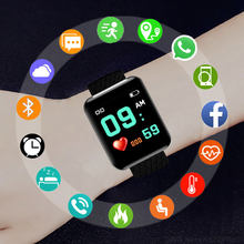 Fashion Sport Smart Watch Children Kids Watches For Girls Boys Electronic LED Digital Clock Child Fitness Tracker Smart-watch(China)