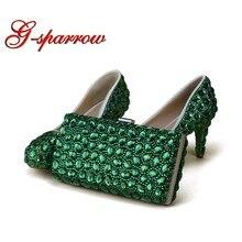 953517c1ce Popular 3 Inch Heel Wedding Shoes with Rhinestones-Buy Cheap 3 Inch ...