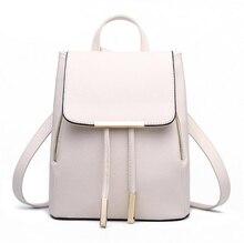 Для женщин рюкзак высокое качество из искусственной кожи Mochila Escolar Школьные сумки для подростков Обувь для девочек топ-ручка Рюкзаки Herald Мод...(China)