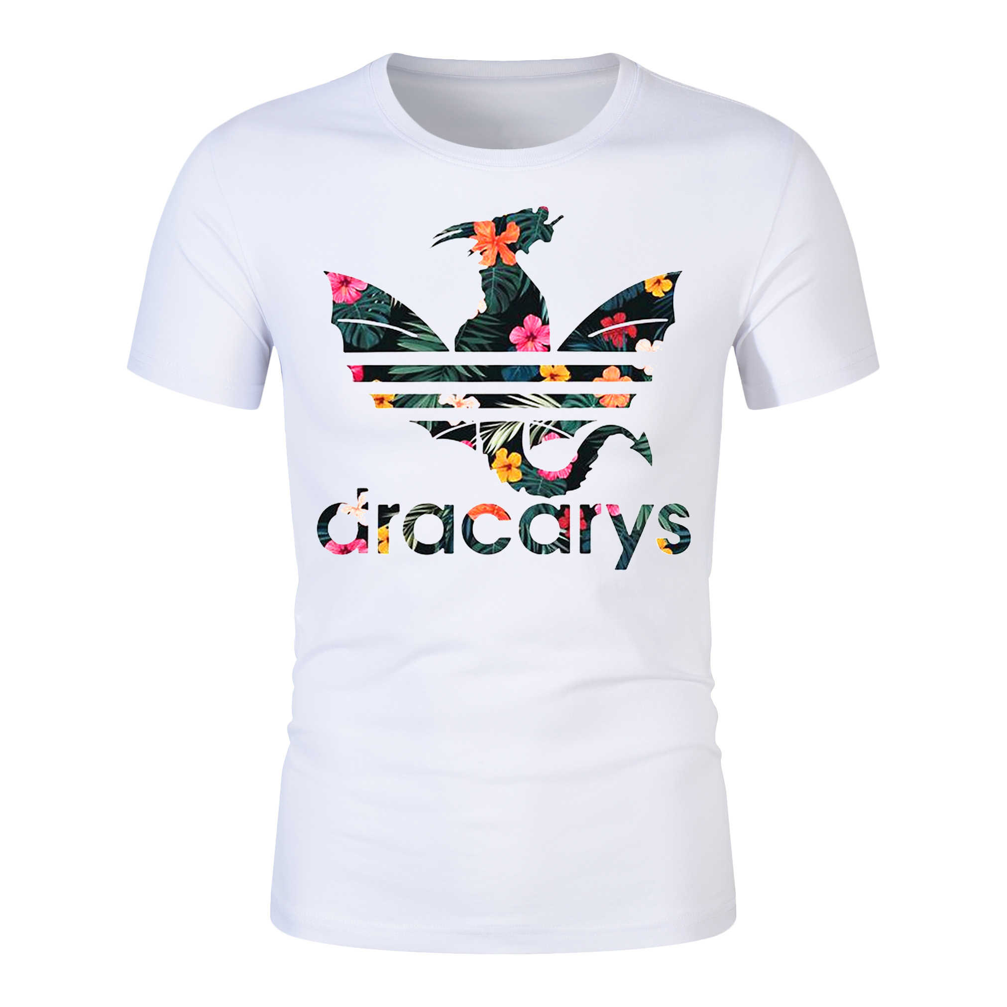 Dracarys shirt Game Of Thrones Brand Unisex Adults T-Shirt harajuku Vintage T shirt Camisetas hombre Tshirt Men Women Game shirt