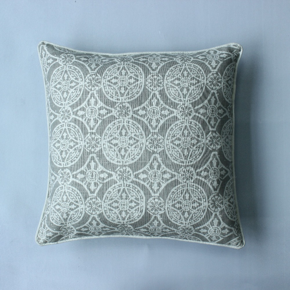 vezo home vintage geometric linen large cushion cover sofa throw pillows cover home decorative large floor